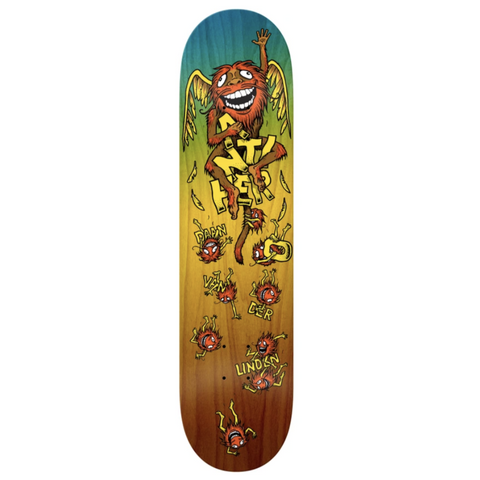 Anti Hero Skateboards Daan Grimple Chimp Deck 8.38
