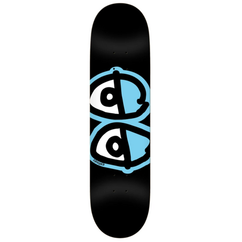 Krooked Skateboards Team Eyes Black 8.06