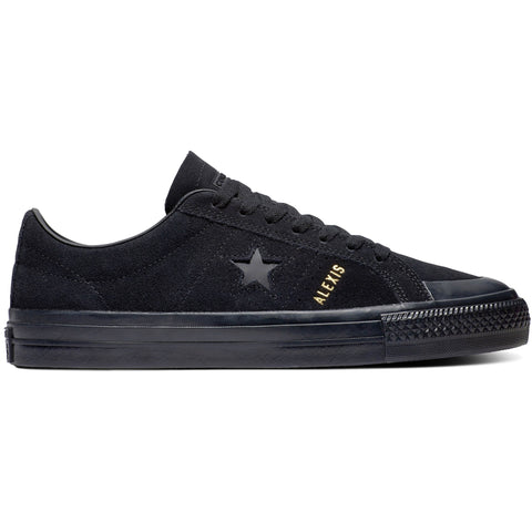 Converse CONS One Star Pro AS Alexis Skateboarding Shoe Blackout