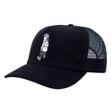 Fucking Awesome Make It Scream Mesh Hat - Black