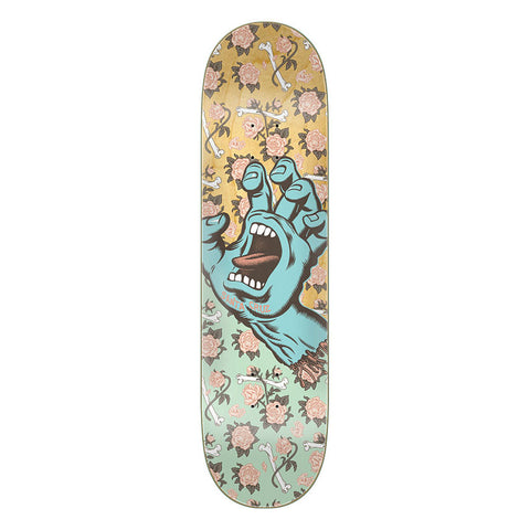 Santa Cruz Skateboards Floral Decay Hand Deck 8.25