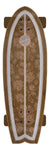 Santa Cruz Skateboards Floral Decay Cruzer Shark Complete Skateboard 8.8