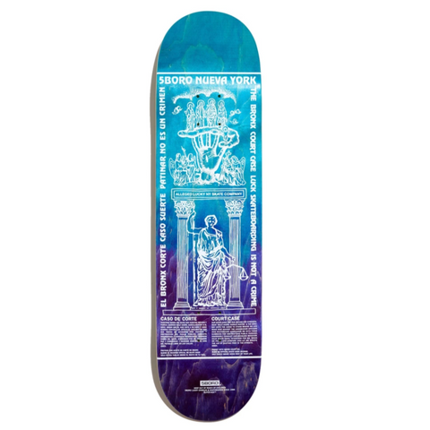 5Boro Skateboards Lucky Candle Deck 8.5