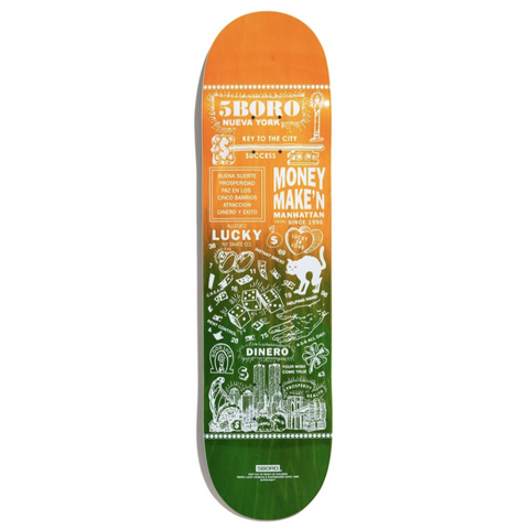 5Boro Skateboards Lucky Candle Deck 8.0