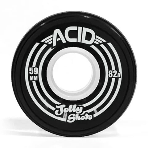 Acid Wheels Jelly Shots 59mm 82a Skateboarding Wheels