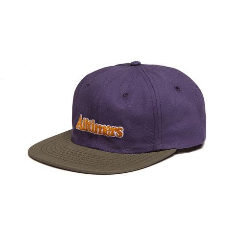Alltimers Skateboards Broadway Hat Purple