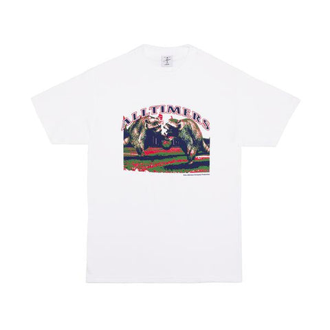 Alltimers Skateboards Vancity Shirt White