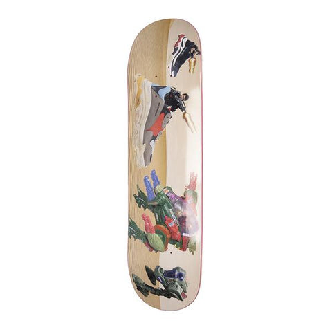 Alltimers Skateboards Exo Shoe Wars Deck 8.12