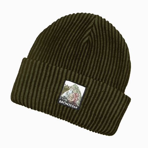 Bronze 56k Mountain Beanie