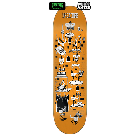 Creature Skateboards Free For All SM Powerply Deck 8.0