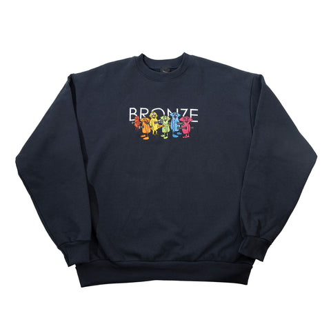 Bronze 56k Bolt Boys Crewneck Sweatshirt