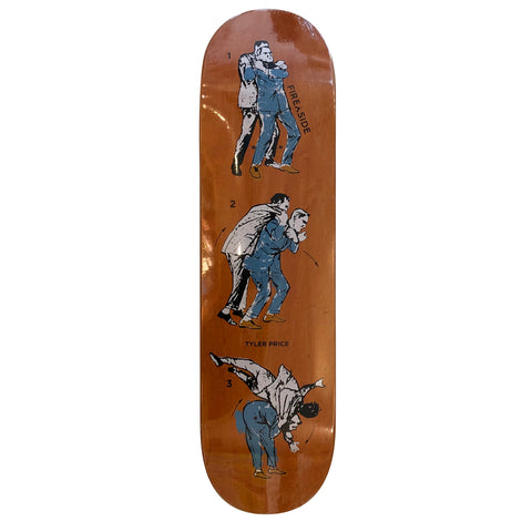 Firexside Skateboards Price Last Man Standing Deck 8.38