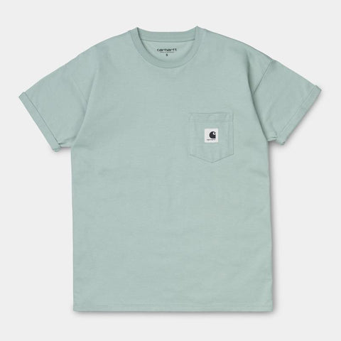 Carhartt WIP Womens Carrie Pocket Shirt Frosted Green