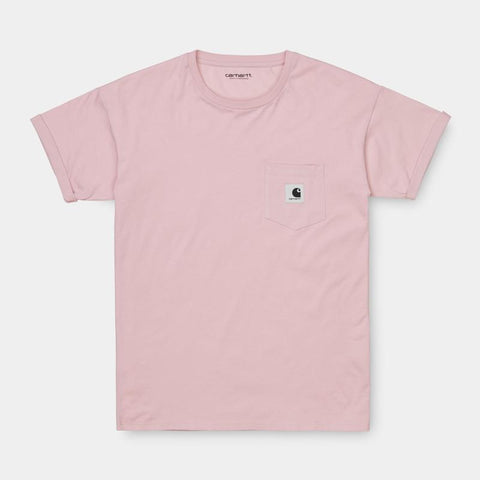 Carhartt WIP Womens Carrie Pocket Shirt Frosted Pink