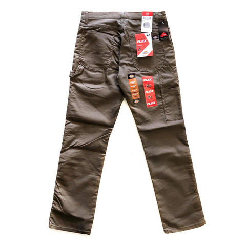 Dickies Flex Carpenter Pants With Tough Max Mushroom