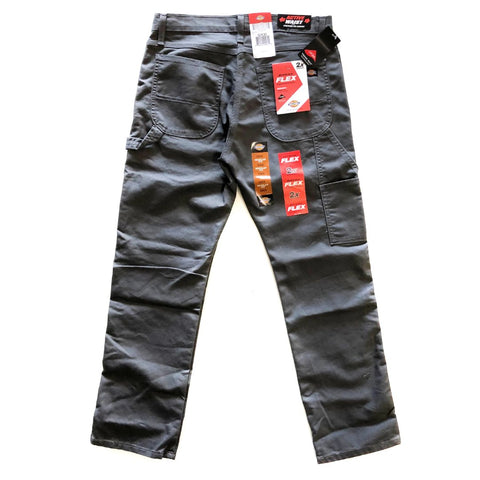 Dickies Flex Carpenter Pants With Tough Max Steel Grey