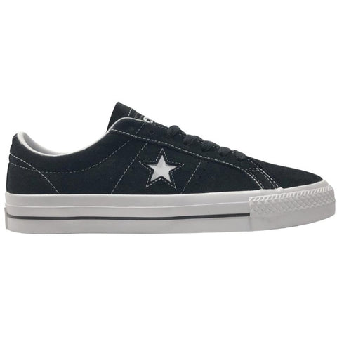 Converse One Star Black/White available at No-Comply Skate Shop in Austin, TX