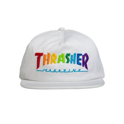 Thrasher Magazine Rainbow Mag Logo Hat