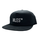 Miles™ Grip Tape Logo Hat - Black