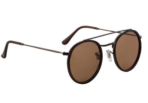 Glassy Parker Polarized Sunglasses Black/Brown
