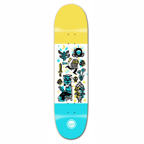 Roger Skate Co. Peace Dog Deck 8.12