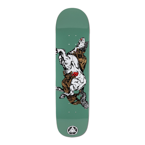 Welcome Skateboards Goodbye Horses Deck 8.25