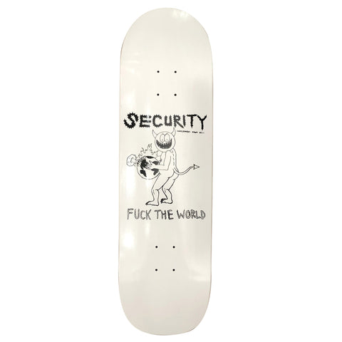 Security Skate Co. FTW Deck 8.75