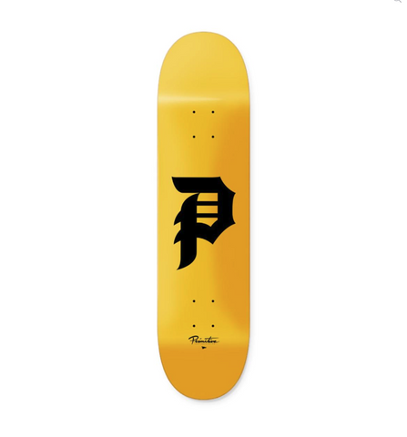 Primitive Skateboards Dirty P Logo Deck 7.75