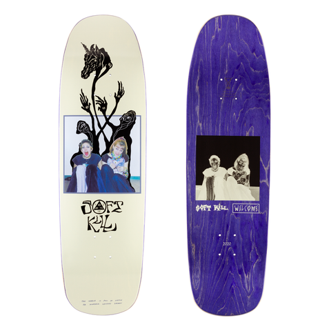 Welcome Skateboards Soft Kill Deck 9.25