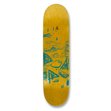 Uma Land Sleds Taped Evan Deck 8.25