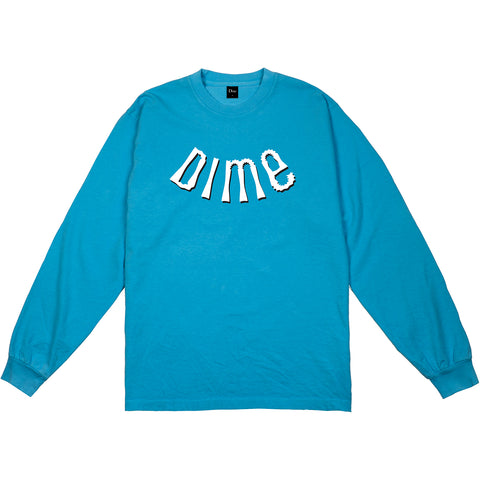 Dime MTL Whirl L/S Shirt Teal