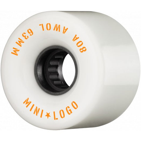 Mini Logo AWOL Skateboard Wheels 63mm 80A