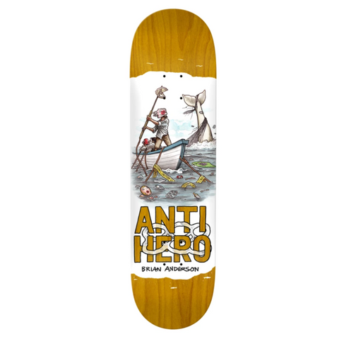 Anti Hero Skateboards BA Plastics Deck 8.4