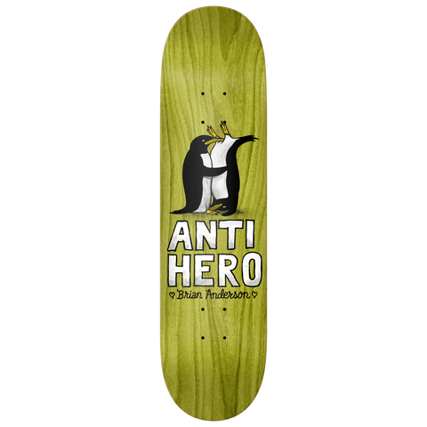 Anti Hero Skateboards BA Lovers II Deck 8.5