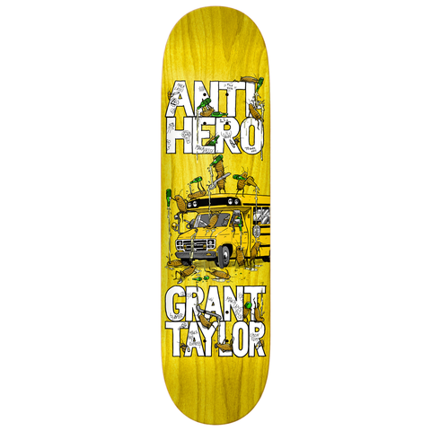 Anti Hero Skateboards Grant Maka Bus Deck 8.5