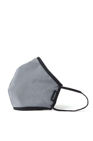 Brixton Anti-Microbial Face Mask Grey Heather
