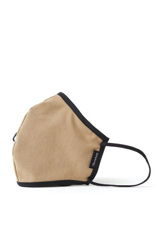 Brixton Anti-Microbial Face Mask Khaki Heather