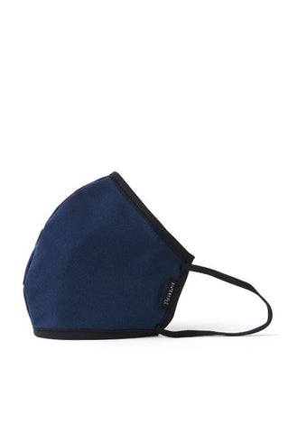 Brixton Anti-Microbial Face Mask Navy Heather