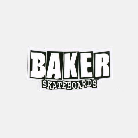 Baker Skateboards Brand Logo Small Stickers