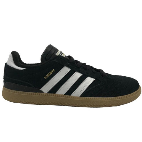 Adidas Busenitz Junior Black/White/Gum available at No-Comply Skate Shop in Austin, TX