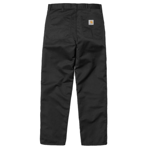 Carhartt WIP Simple Pant Black Rinsed
