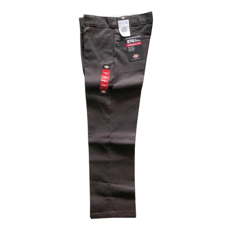 Dickies Dark Brown Original 874 Pants available at No-Comply Skate Shop in Austin, TX