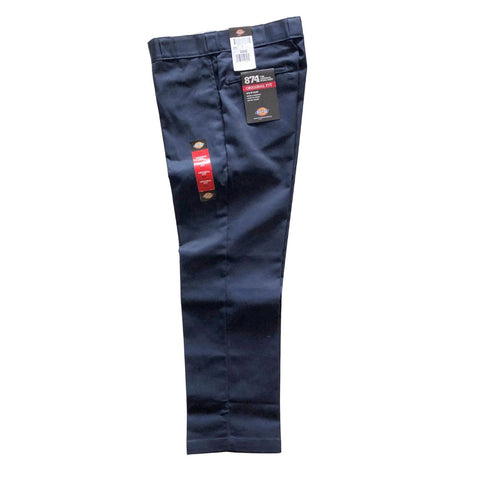 Dickies Dark Navy Original 874 Work Pants available at No-Comply Skate Shop in Austin, TX
