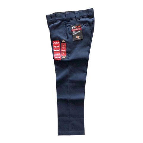 Dickies Dark Navy 874 Flex Pant available at No-Comply Skate Shop in Austin, TX