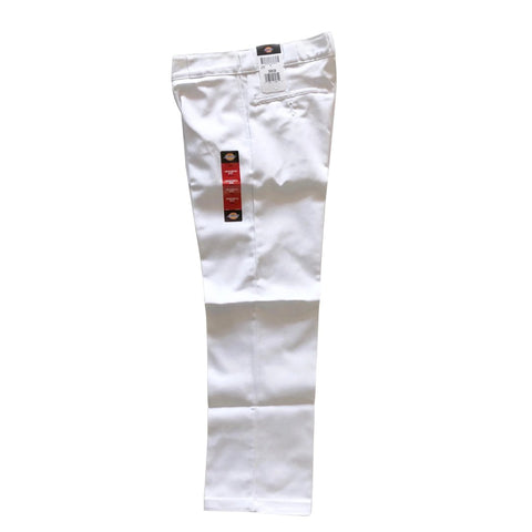 Dickies White Original 874 Work Pants available at No-Comply Skate Shop in Austin, TX