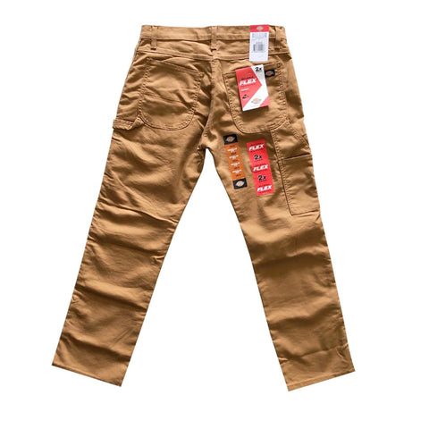 Dickies Duck Brown Flex Carpenter Pants Available at No-Comply Skate Shop in Austin, TX