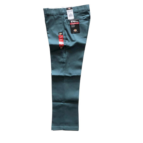 Dickies Lincoln Green Original 874 Work Pants available at No-Comply Skate Shop in Austin, TX