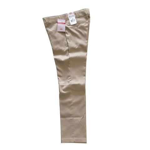 Dickies Khaki Women's 67 Ankle Cut Pant available at No-Comply Skate Shop in Austin, TX
