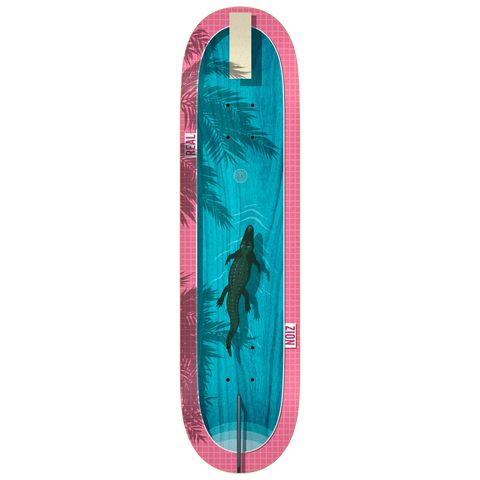 Real Skateboards Zion Dive In Deck 8.5