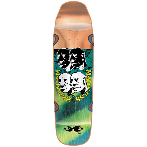 Madness Skateboards Bloc Head R7 Deck 9.0
